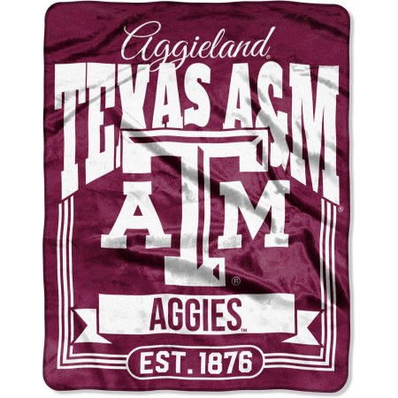 "NCAA Texas A Aggies ""Traction"" 55"" x 70"" Silk Touch Throw"