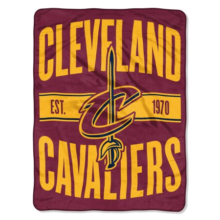 "NBA Cleveland Cavaliers ""Clear Out"" 46""x 60"" Micro Raschel Throw Blanket"