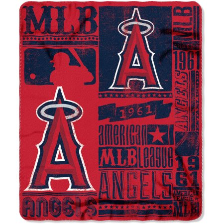 "MLB Los Angeles Angels 50"" x 60"" Fleece Throw"