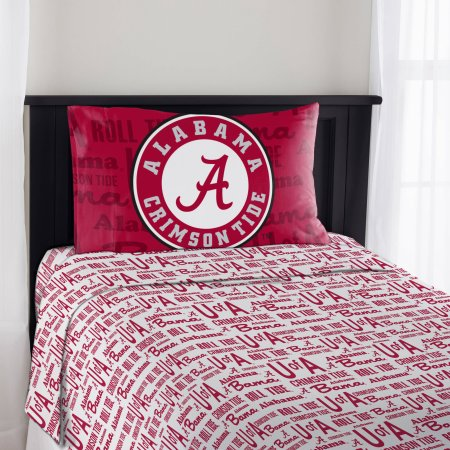 "NCAA Alabama Crimson Tide ""Anthem"" Twin Sheet Set"