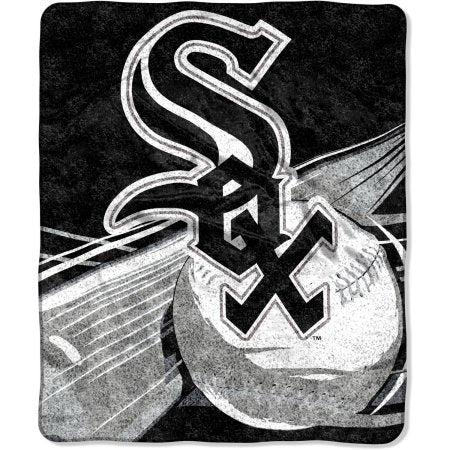 "MLB Chicago White Sox ""Big Stick"" 50"" x 60"" Sherpa Throw"