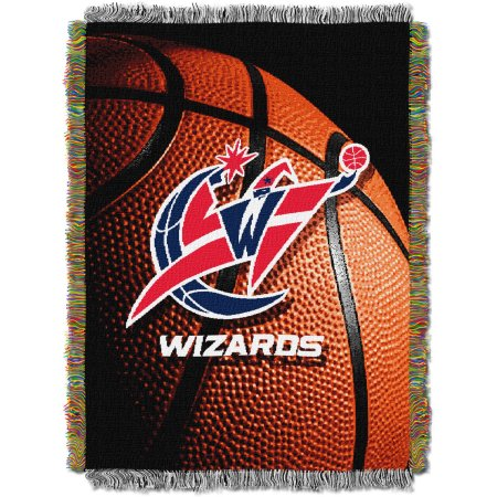 "NBA 48"" x 60"" Photo Real Series Tapestry Throw, Wizards"