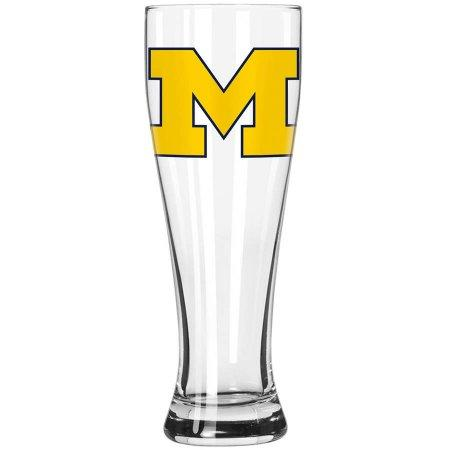 Boelter Brands NCAA University of Michigan Wolverines 23-Ounce Grand Pilsner with Full Color Team Logo