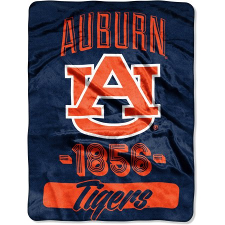 "Auburn Tigers ""Varsity"" 46"" x 60"" Micro Raschel Throw Blanket"
