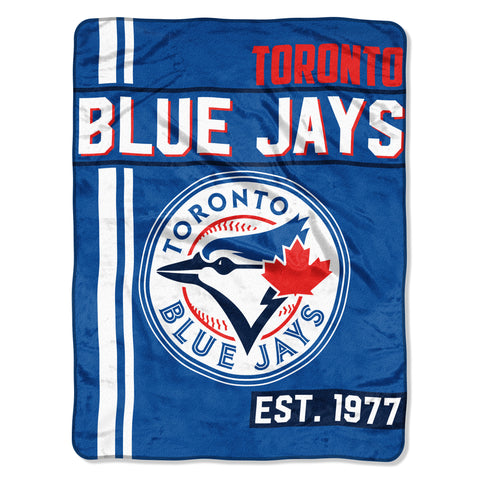 "MLB Toronto Blue Jays ""Walk Off"" 46""x 60"" Micro Raschel Throw Blanket"
