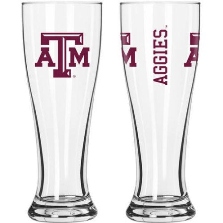 NCAA Texas A & M University Aggies 2-Pack Gameday Pilsner Set