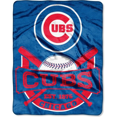 "MLB Chicago Cubs ""Bats"" 55"" x 70"" Silk Touch Throw"