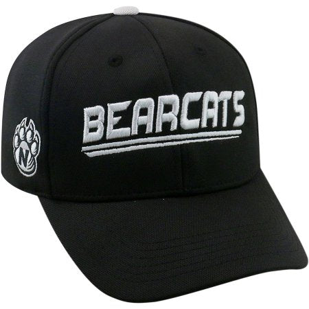 NCAA University of Nw Missouri State Bearcats Black Baseball Hat \ Cap