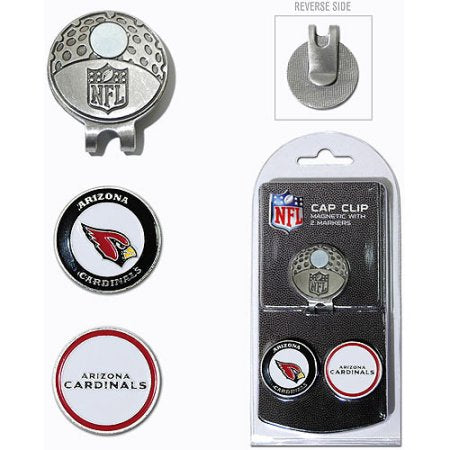 Team Golf NFL Washington Redskins Cap Clip With 2 Golf Ball Markers