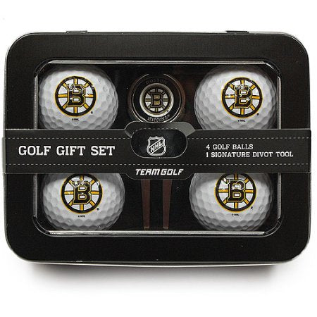 NHL Boston Bruins 4 Golf Ball And Divot Tool Set