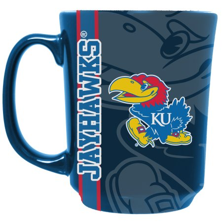 NCAA Kansas Jayhawks 11 oz Reflective Mug