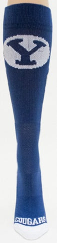 NCAA BYU Cougars Blue Athletic Socks