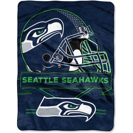 "NFL Seattle Seahawks ""Prestige"" 60"" x 80"" Raschel Throw"