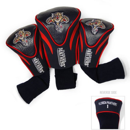 Team Golf NHL Florida Panthers 3 Pack Contour Head Covers