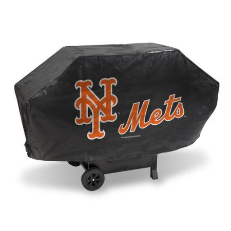 MLB New York Mets Deluxe Grill Cover