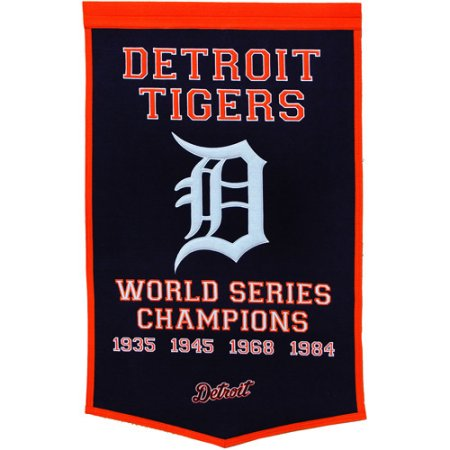 MLB Detroit Tigers Banner