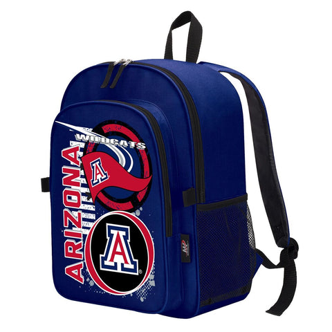 "Arizona Wildcats ""Accelerator"" Backpack and Lunch Bag / Box Set"