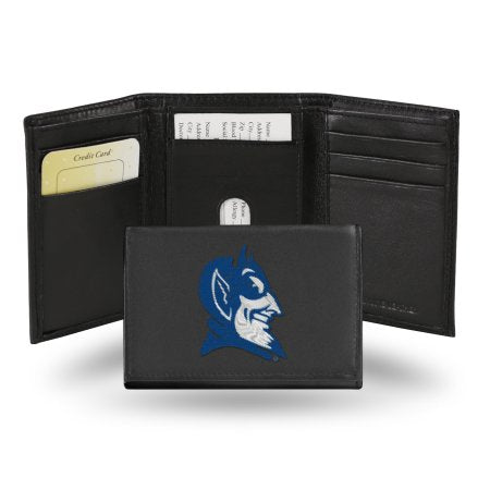 NCAA Men's Duke Blue Devils Embroidered Trifold Wallet