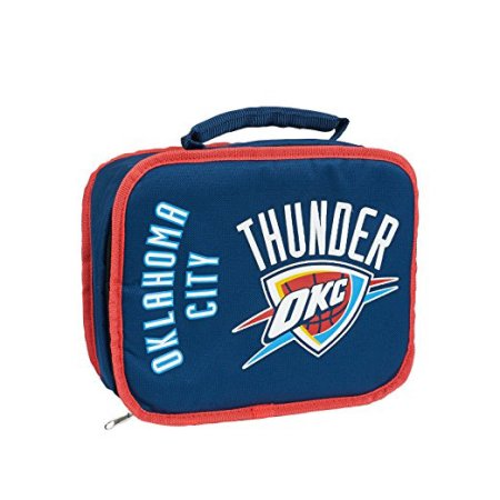 "NBA Oklahoma City Thunder ""Sacked"" 10.5""L x 8.5""H x 4""W Lunchbox Cooler"