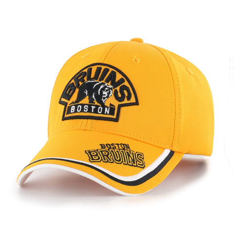 NHL Boston Bruins Forest Adjustable Hat - Yellow