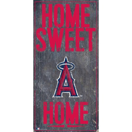 MLB Los Angeles Angels 6'' x 12'' Home Sweet Home Sign