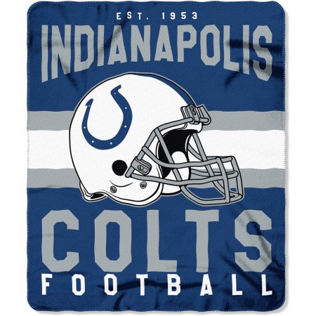 "NFL Indianapolis Colts ""Singular"" 50"" x 60"" Fleece Throw"