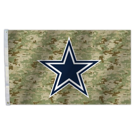 NFL Dallas Cowboys Camo 3X5 Flag