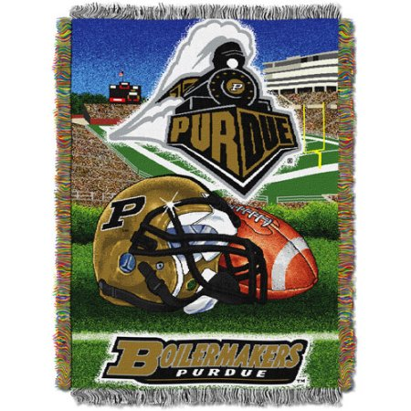 "NCAA 48"" x 60"" Tapestry Throw Home Field Advantage Series- Purdue"