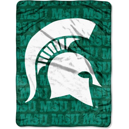 "Michigan State Spartans 46"" x 60"" Micro Raschel Throw Blanket"