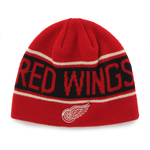 NHL Detroit Red Wings Bonneville Stocking Hat Beanie