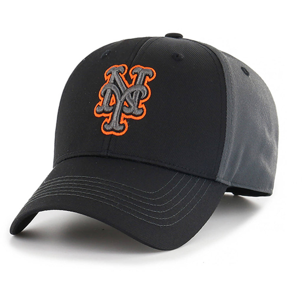 MLB New York Mets Mass Blackball Adjustable Hat