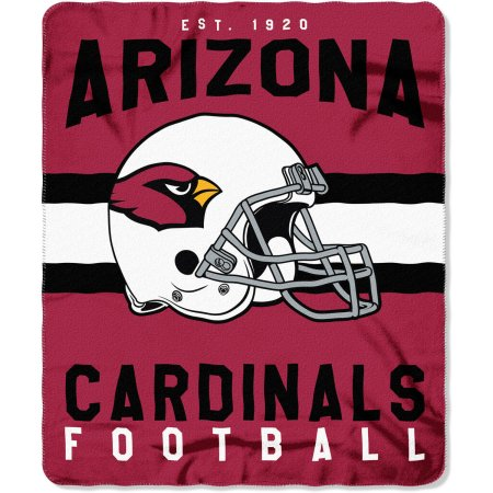 "NFL Arizona Cardinals ""Singular"" 50"" x 60"" Fleece Throw"