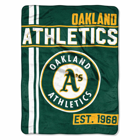 "MLB Oakland Athletics ""Walk Off"" 46""x 60"" Micro Raschel Throw Blanket"