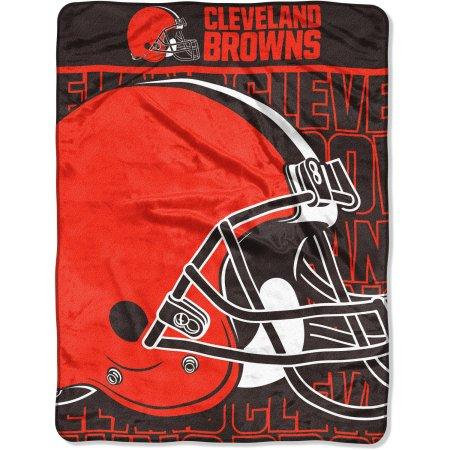 "Cleveland Browns 46"" x 60"" Micro Raschel Throw Blanket"