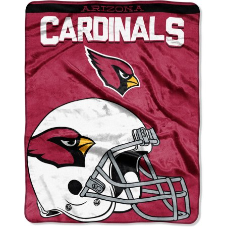 "NFL Arizona Cardinals ""Drawback"" 55"" x 70"" Silk Touch Throw"