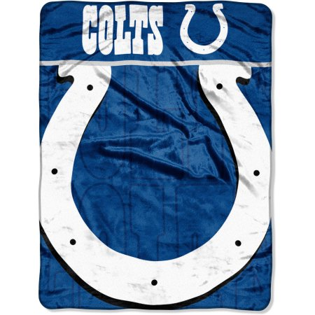 "NFL Indianapolis Colts 46"" x 60"" Micro Raschel Throw Blanket"
