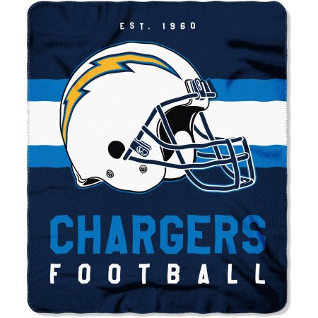 "NFL Chargers ""Singular"" 50"" x 60"" Fleece Throw"