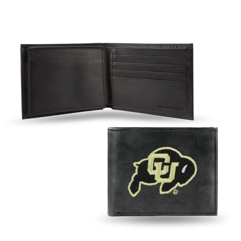 NCAA Men's Colorado Buffaloes Embroidered Billfold Wallet