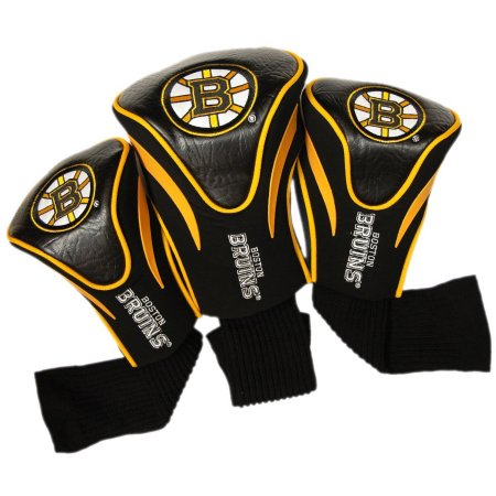 NHL Boston Bruins 3 Pack Contour Head Covers