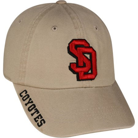 NCAA Men's South Dakota Coyotes Khaki Hat \ Cap