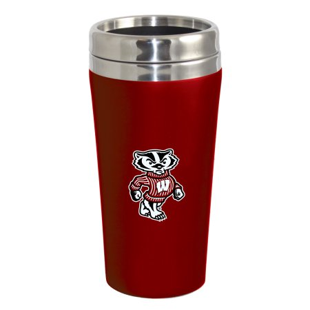 NCAA Wisconsin Badgers Double Walled Travel Tumbler