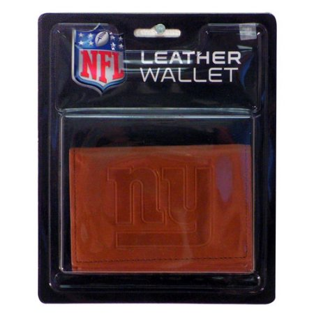 NFL New York Giants Leather Trifold Wallet