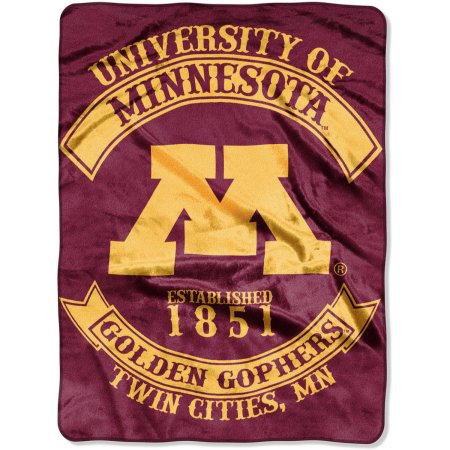 "NCAA Minnesota Golden Gophers ""Rebel"" 60"" x 80"" Raschel Throw"
