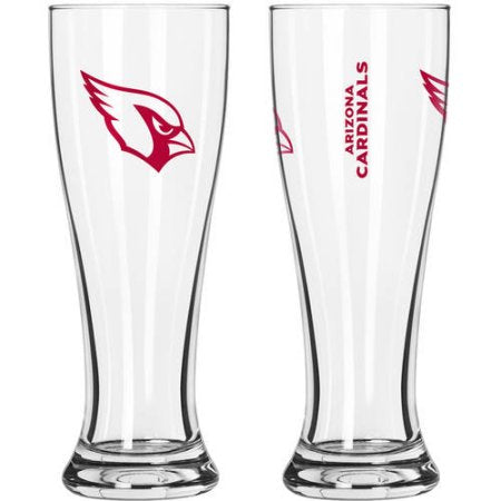 NFL Arizona Cardinals 2-Pack Gameday Pilsner Set