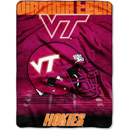 "NCAA Virginia Tech Hokies 60"" x 80"" Oversized Micro Raschel Throw Blanket"