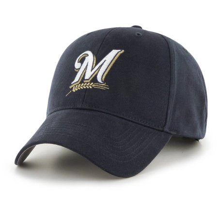 Fan Favorite - MLB Adjustable Hat / Cap - Milwaukee Brewers