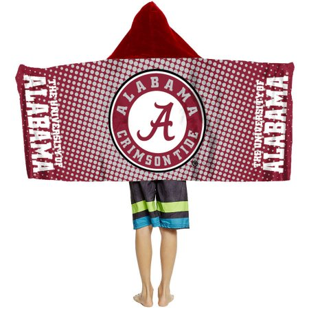 "NCAA Alabama Crimson Tide ""Dots"" Youth Hooded Towel"