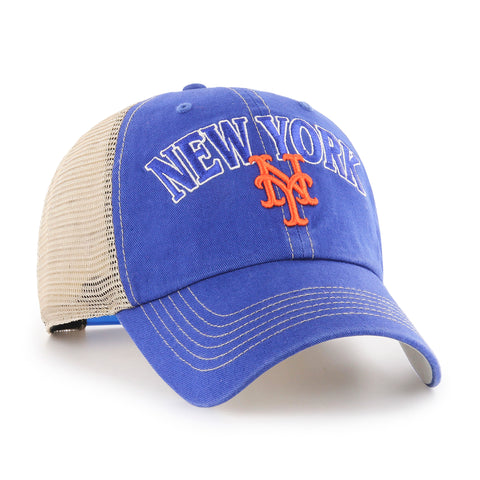 MLB New York Mets Aliquippa Mesh Back Adjustable Hat
