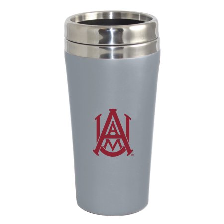 NCAA Alabama A & M 16 Ounce Double Walled Travel Tumbler