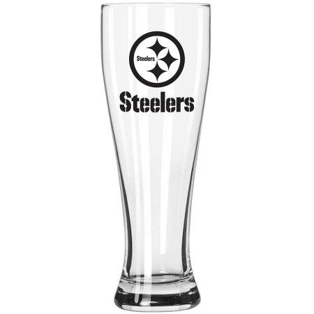 Boelter Brands NFL Pittsburgh Steelers 23-Ounce Grand Pilsner with Full Color Team Logo